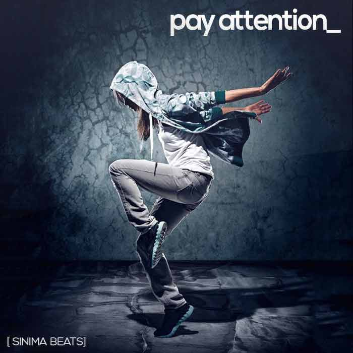 Sinima Beats - Pay Attention Instrumental (Club Beat Rap)