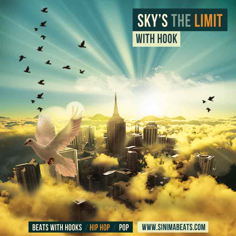 Sinima Beats - Sky's the Limit Instrumental (Smooth Hip Hop Beat | Heartfelt | W/ with Hook)