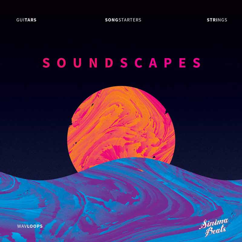 WAV Sample Packs (FL Studio, Ableton Live, Cubase, Drum Kits, Audio Loops, String Loops, Guitars, Guitar, String, WAV Loops, Sound Effects) Soundscapes by Sinima Beats