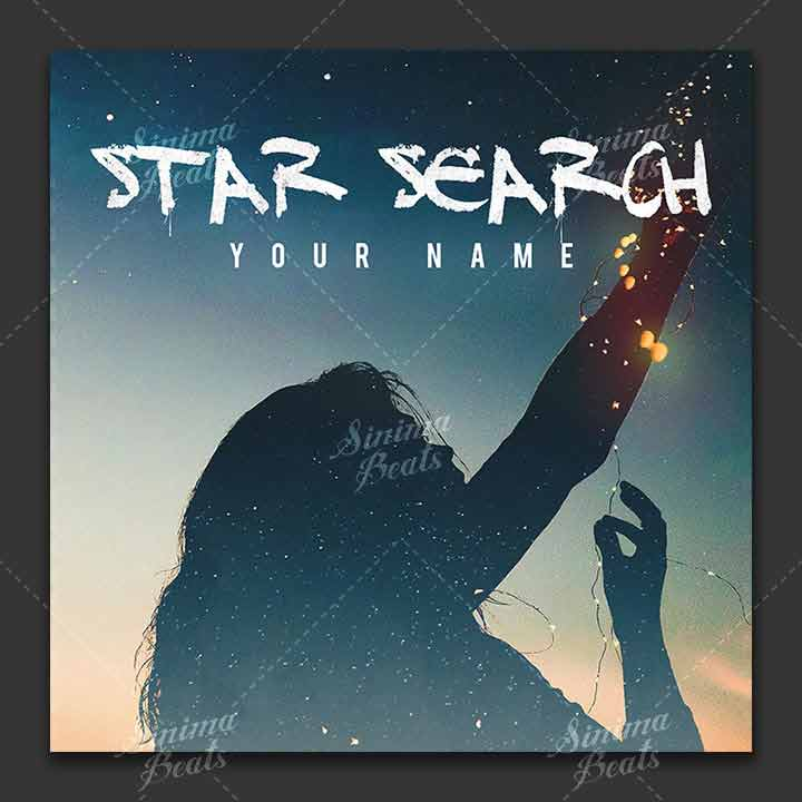 Music Cover Art Design - Star Search by Sinima Beats