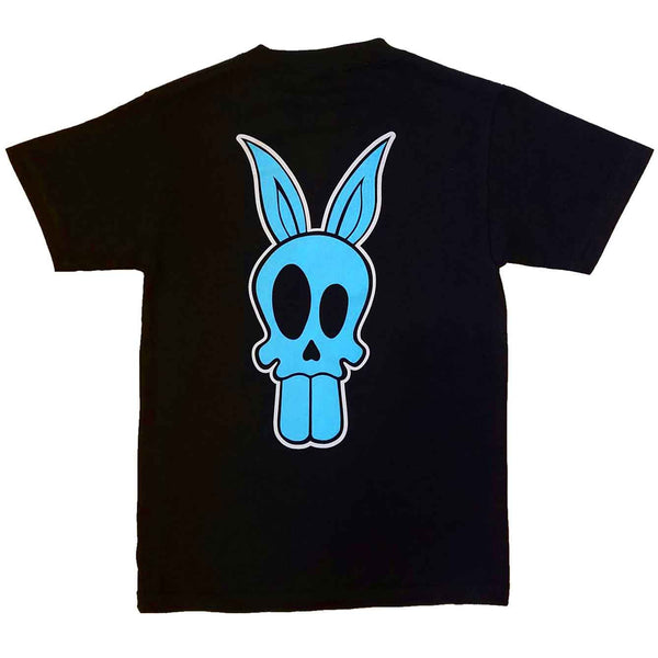 """Bad News Bunny"" T-Shirt in Aqua"