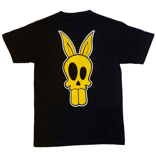 """Bad News Bunny"" T-Shirt in Yellow"