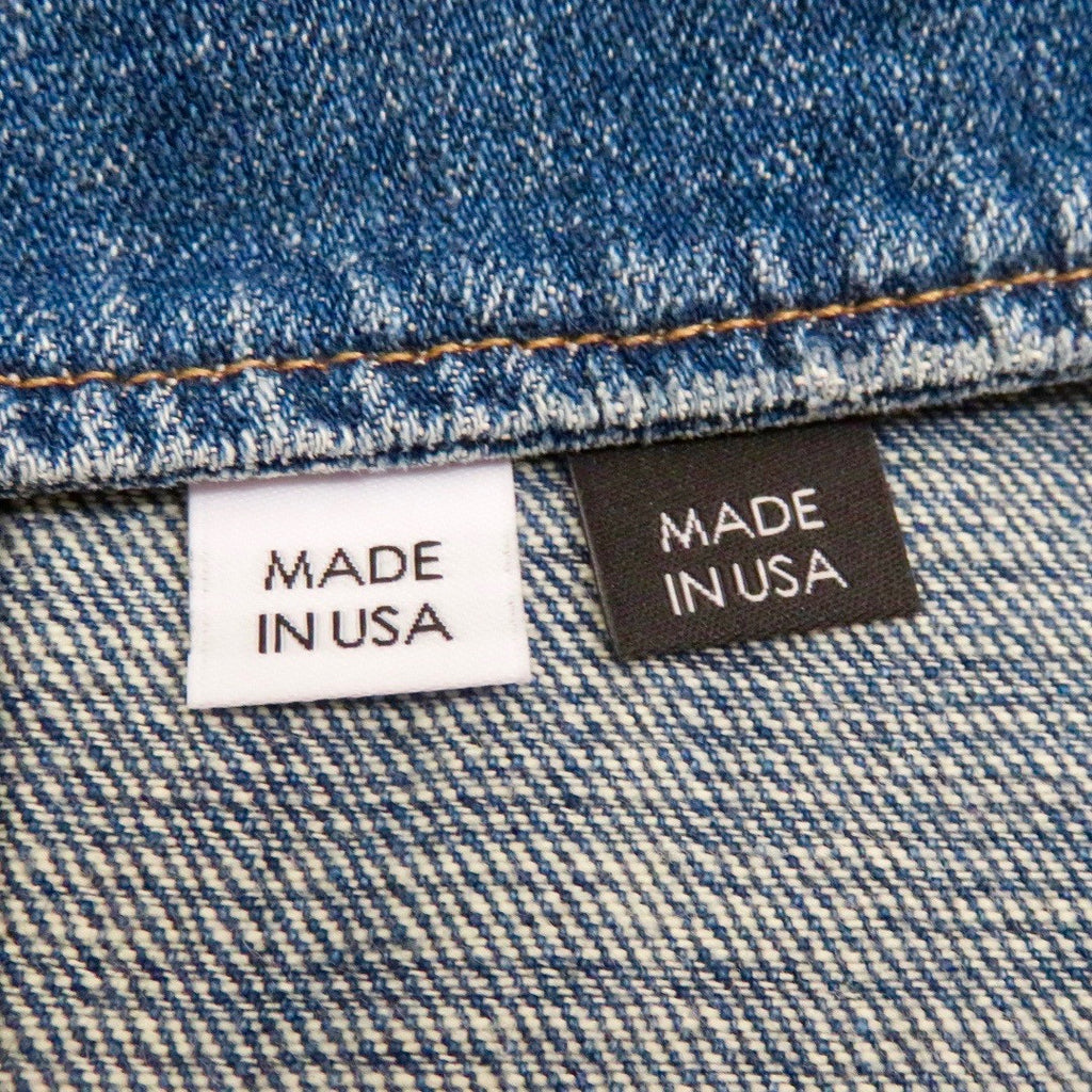 MADE IN USA Clothing Labels