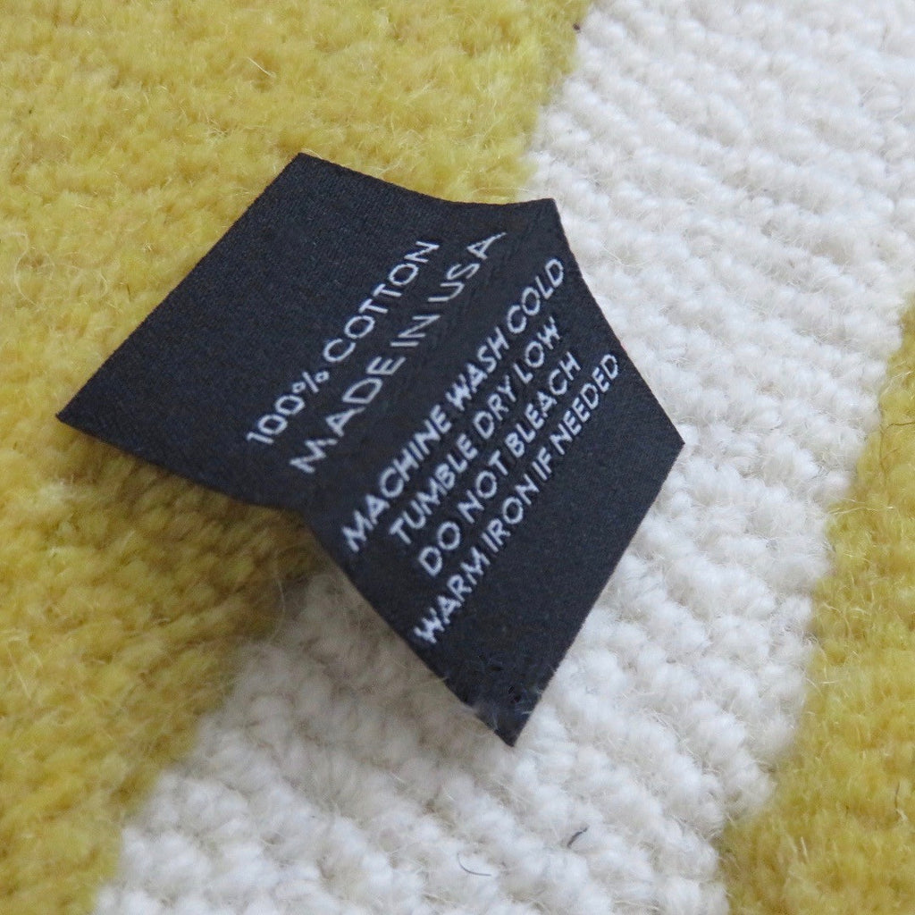 100% Cotton Made in USA - Garment Care Labels