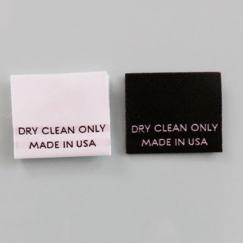 1000 PCS S,M,L,XL AMERICAN FLAG MADE IN USA WOVEN CLOTHING LABELS CARE LABEL