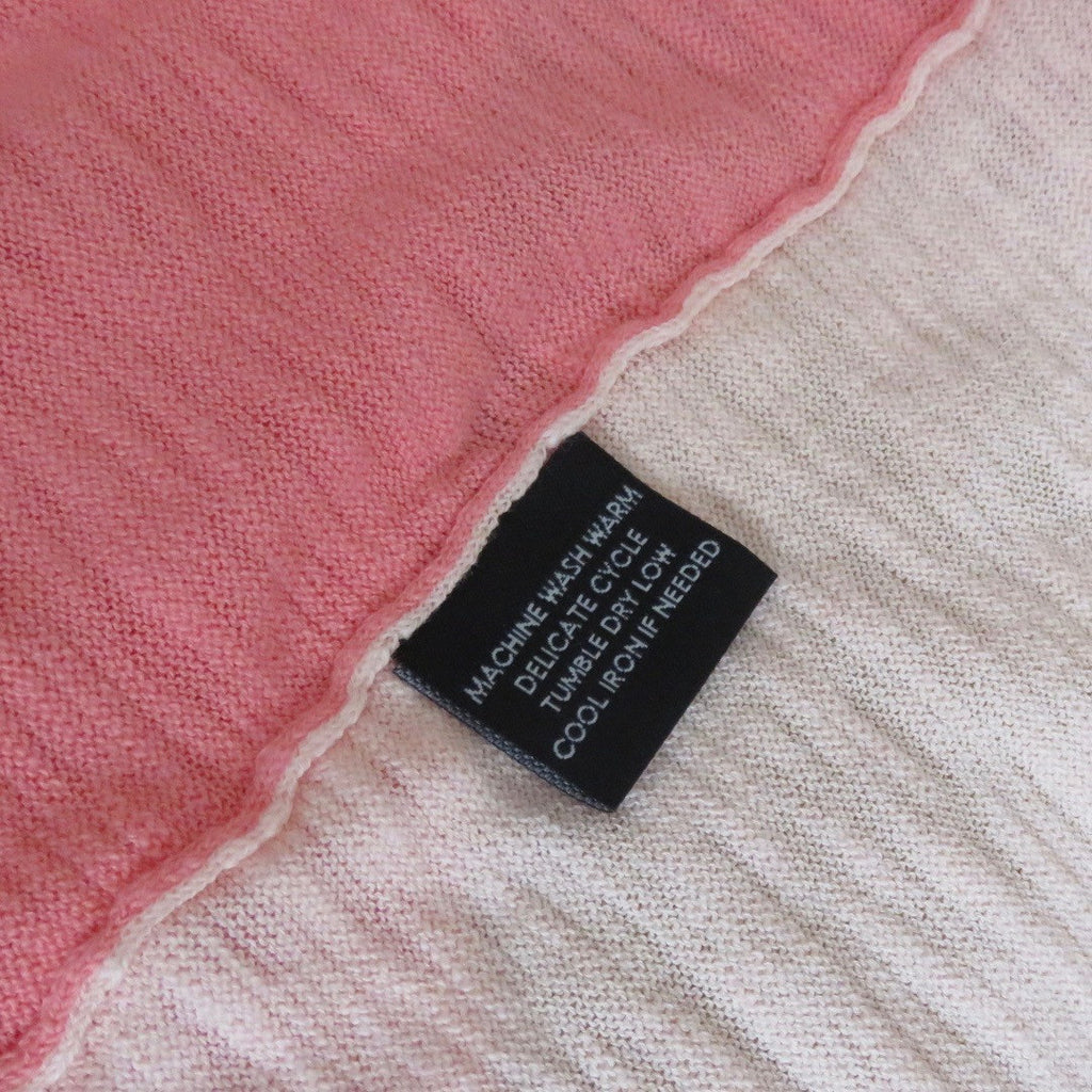 MACHINE WASH WARM - Garment Care Label