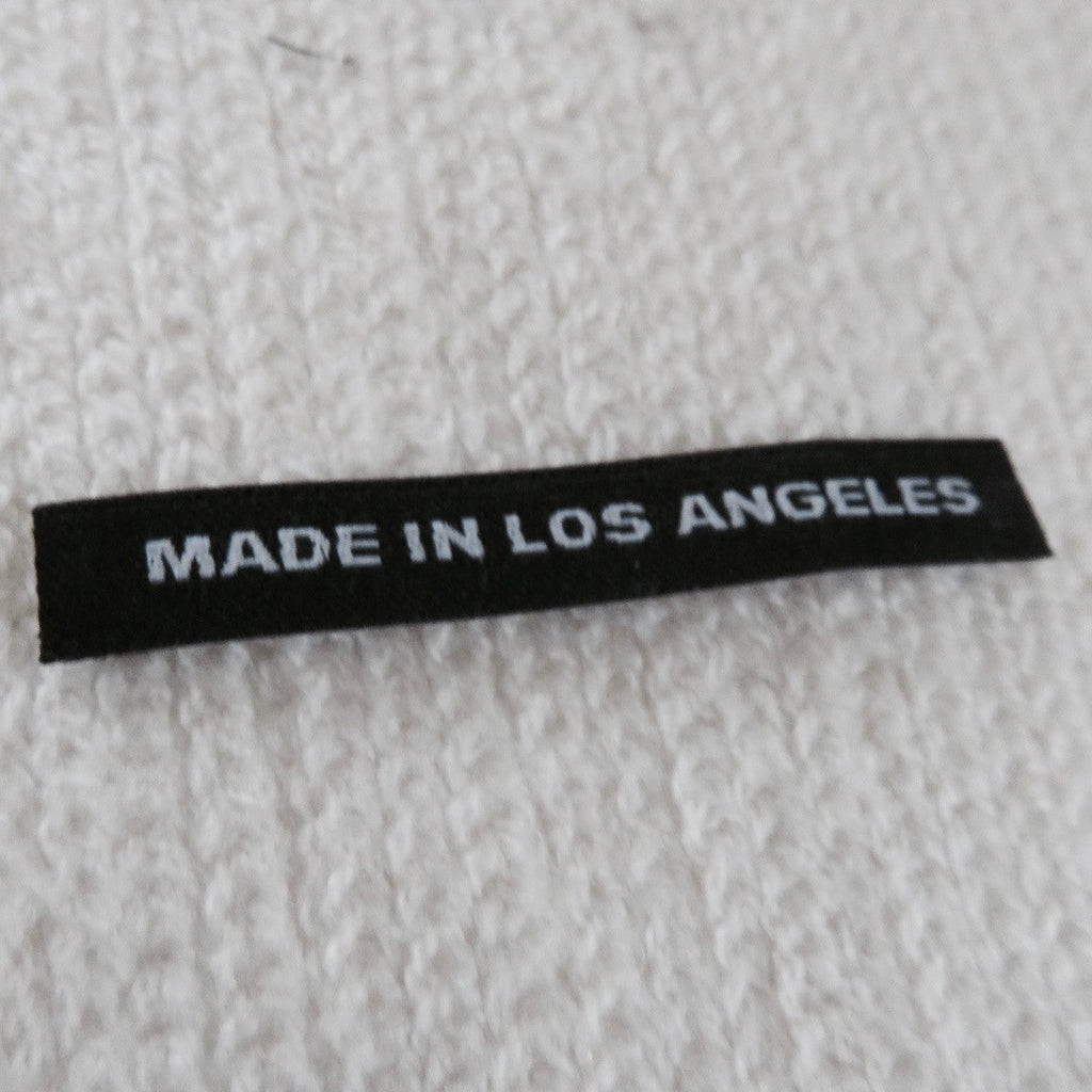 MADE IN LOS ANGELES - Clothing Labels with Block Letters
