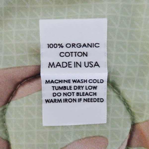 100 ORGANIC COTTON MADE IN USA