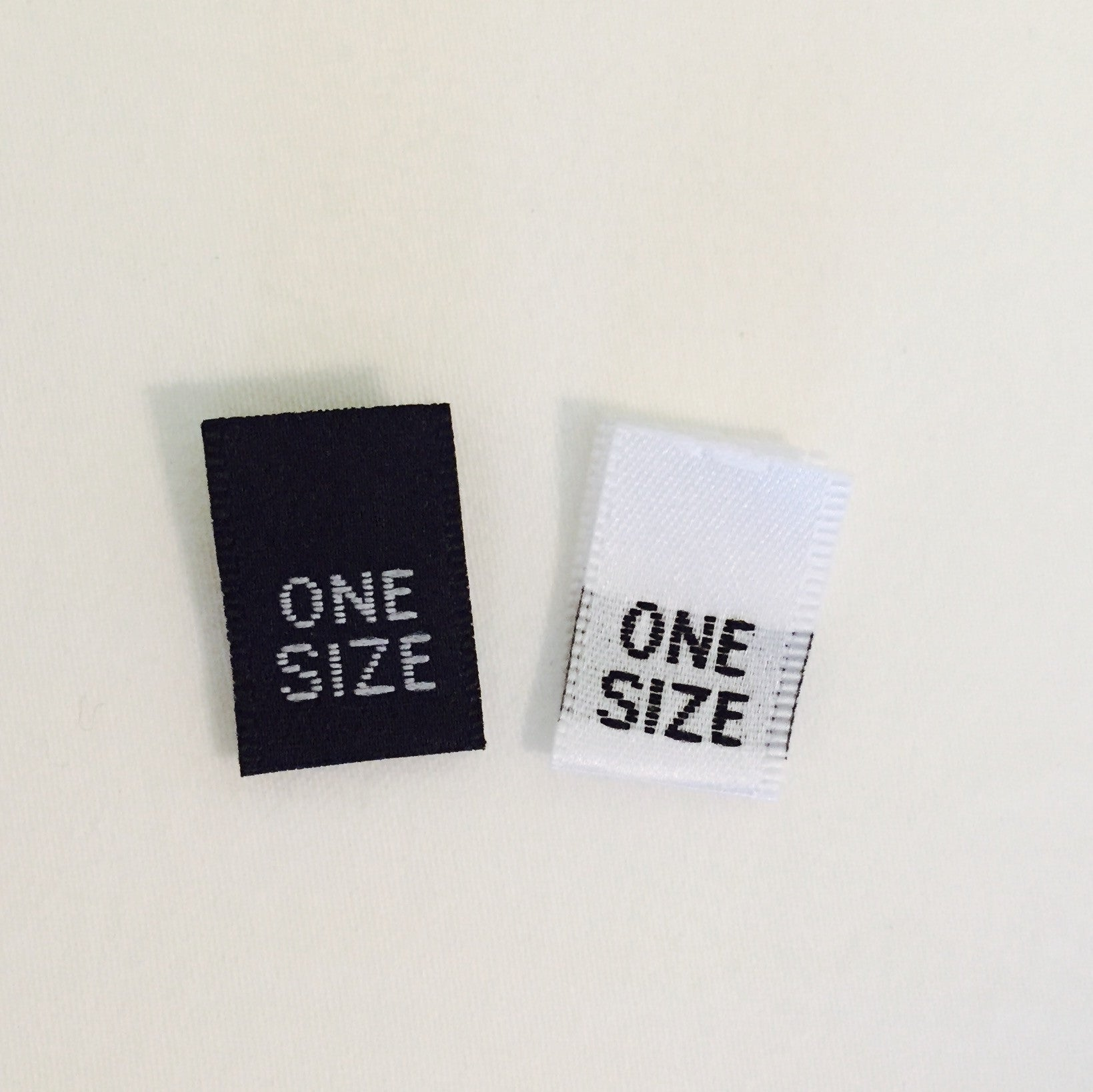 Qty 100 size 21 Twenty-One clothing woven labels tags tab label tag