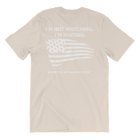 Full Metal Beard Distressed American Flag Short-Sleeve Unisex T-Shirt