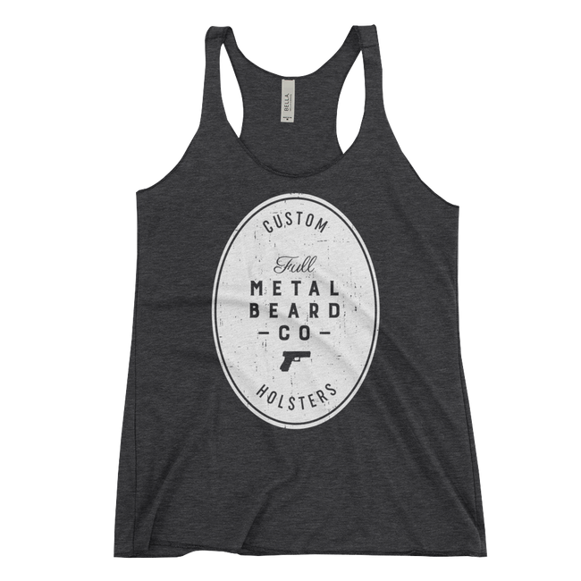 Full Metal Beard Women's Racerback Tank