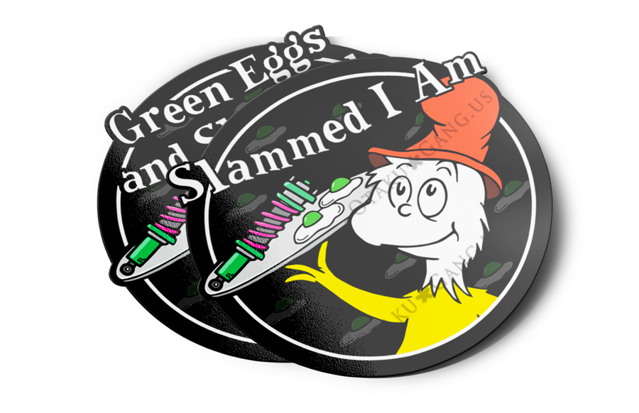 Slammed I Am/Green Eggs and Slammed
