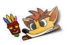 Crash and AkuAku Set