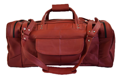 Leather Travel Bag - Large