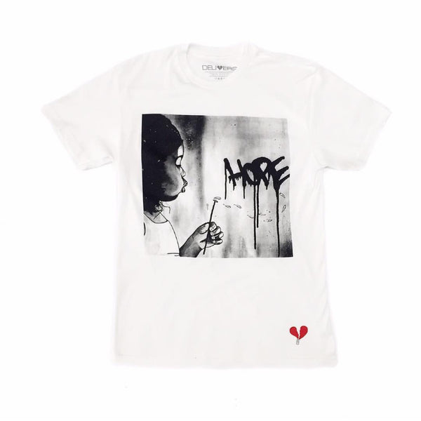 "White ""Hope"" Shirt"
