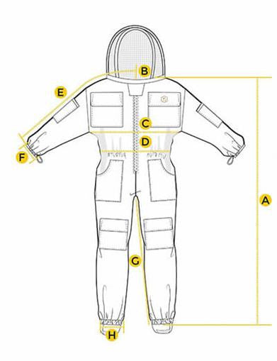 Clothing - Ventilated Bee Suit
