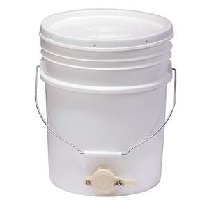 Honey Extraction - 5gal pail with honey gate