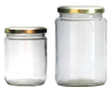 Honey Jar Glass - Cylindrical