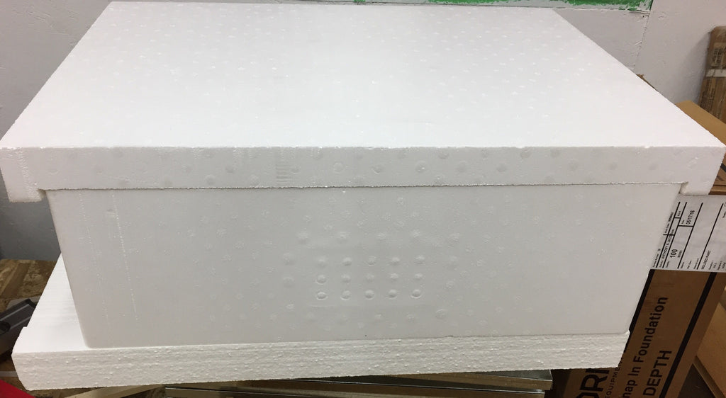 Polystyrene bottom board