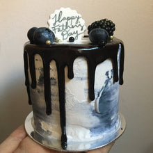 Load image into Gallery viewer, Mini Cake (bday black)