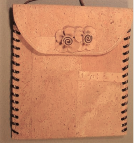 Alioot cork leather purse