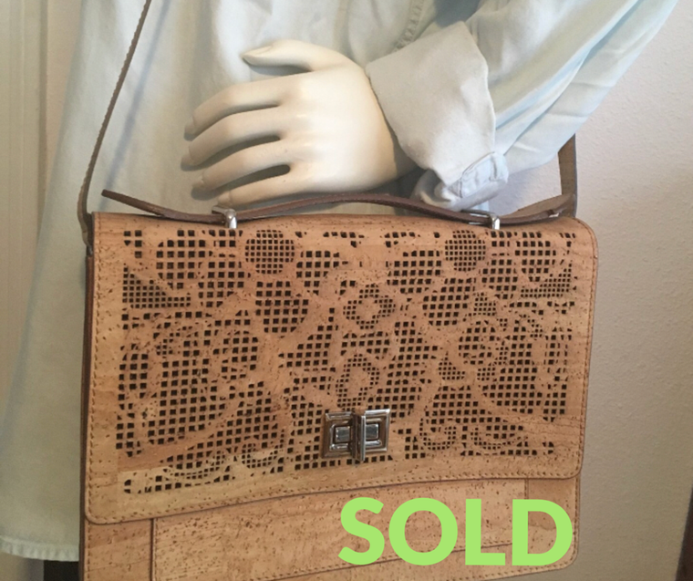 SOLD OUT Laser Cut Shoulder Purse (by Artipel)
