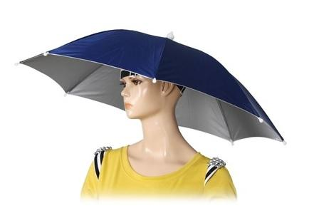 Hands Free Umbrella Hat
