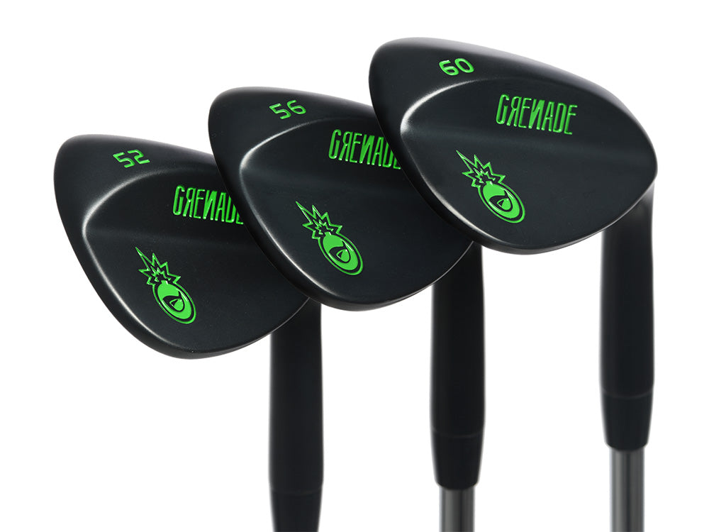 Pre-Owned Limited Edition Grenade 52, 56 and 60 Wedge Set
