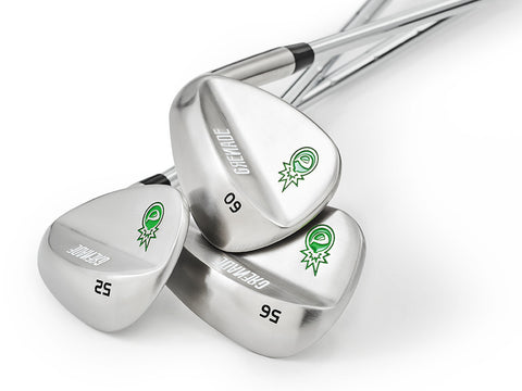 Pre-Owned Grenade 52, 56 and 60 Wedge Set