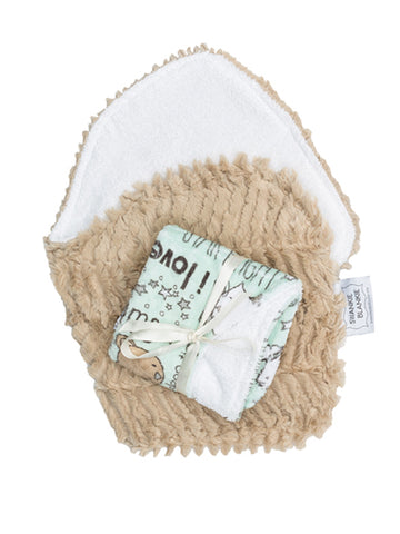 MINT LULABYE BURP CLOTHS