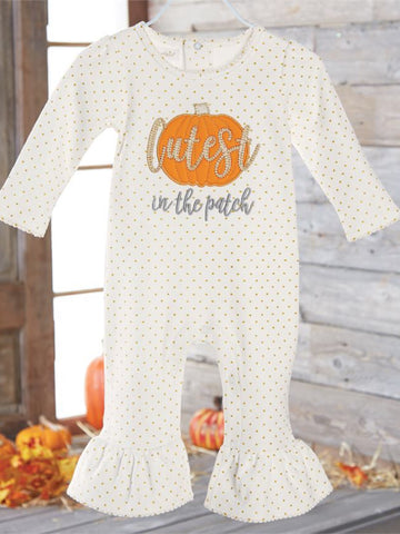 CUTEST PUMPKIN ONE PIECE