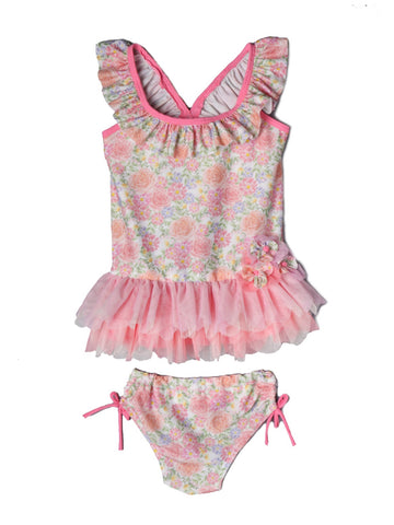 CORAL DANNI RAE 2PC SWIMSUIT
