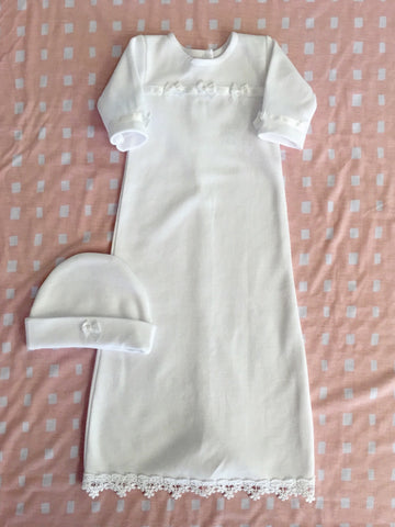 SPECIAL OCCASION GOWN WITH HAT