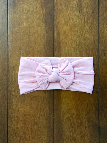 Nylon Dusty Rose Headband