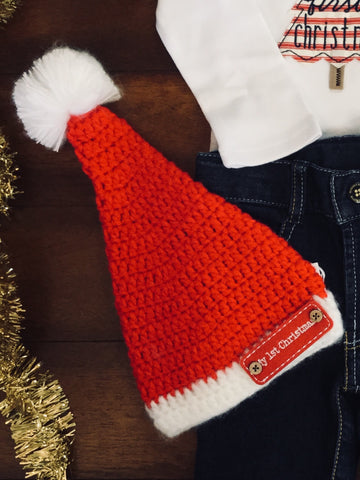 MY FIRST SANTA HAT