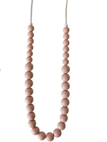 The Ariana - Blush Teething Necklace