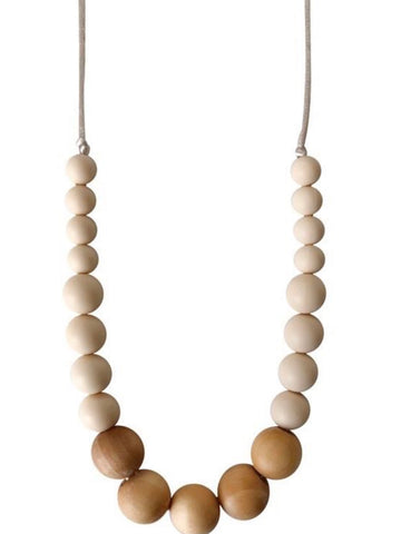 The Landon - Desert Taupe Teething Necklace