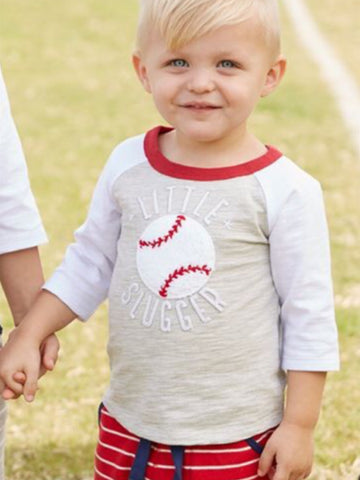 LITTLE SLUGGER BASEBALL TEE SHIRT