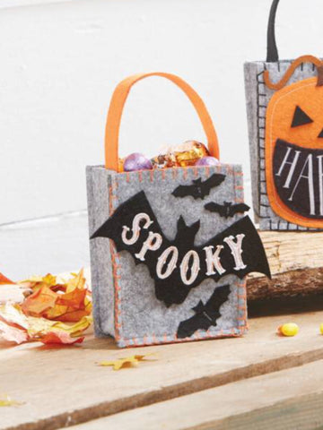 BAT MINI TREAT FELT BAG