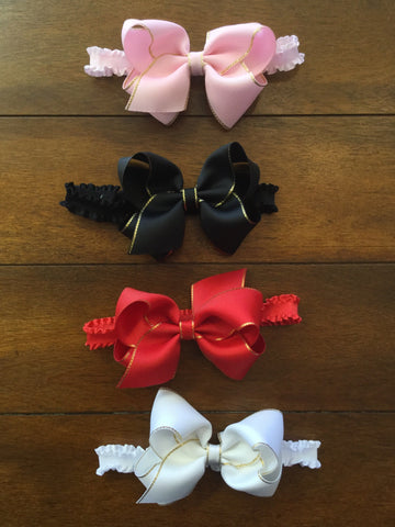 SMALL BOW BABY BAND