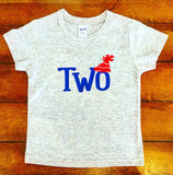 BIRTHDAY 'TWO' PARTY TEE