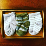LITTLE DEER NEWBORN SOCK SET