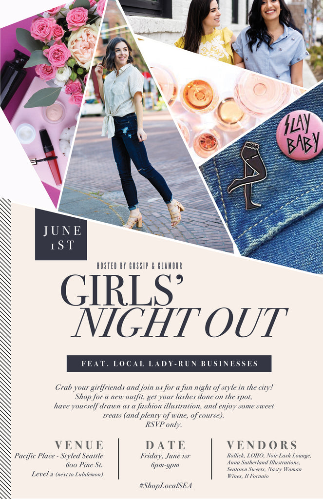 Event Calendar - Seattle Girls' Night Out - June 1st