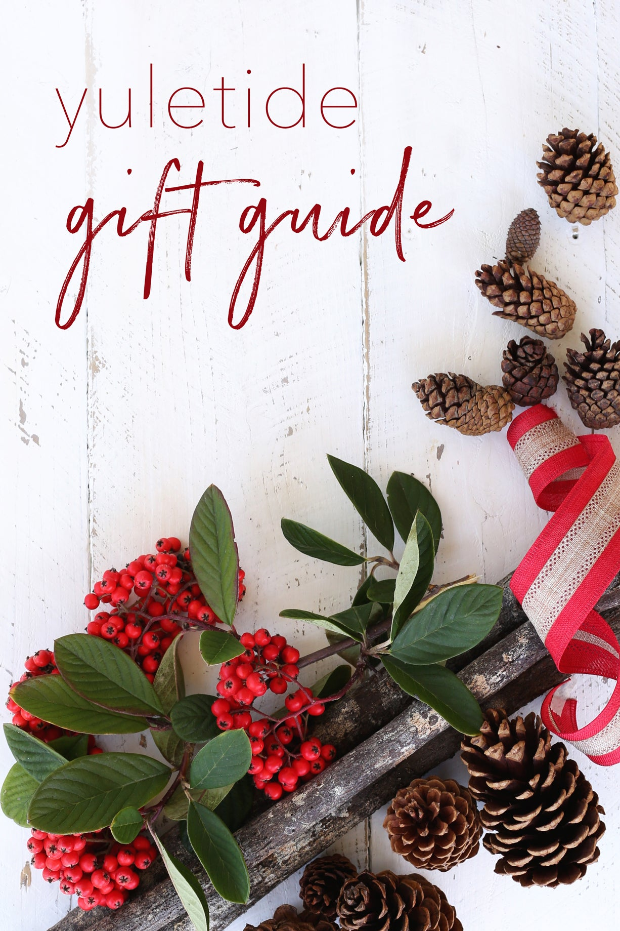 The Yuletide Gift Guide - Gifts for every lady on your list!
