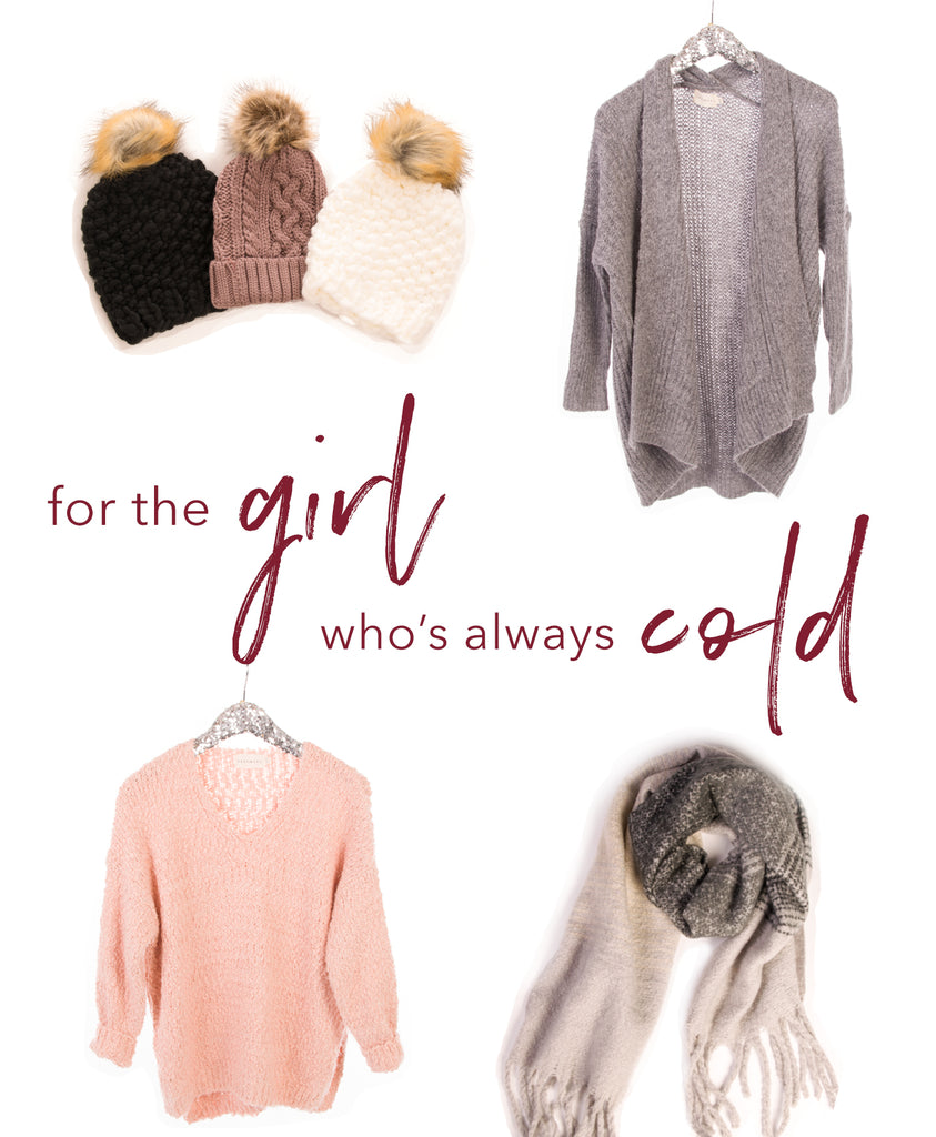 gifts for the girl whos always cold