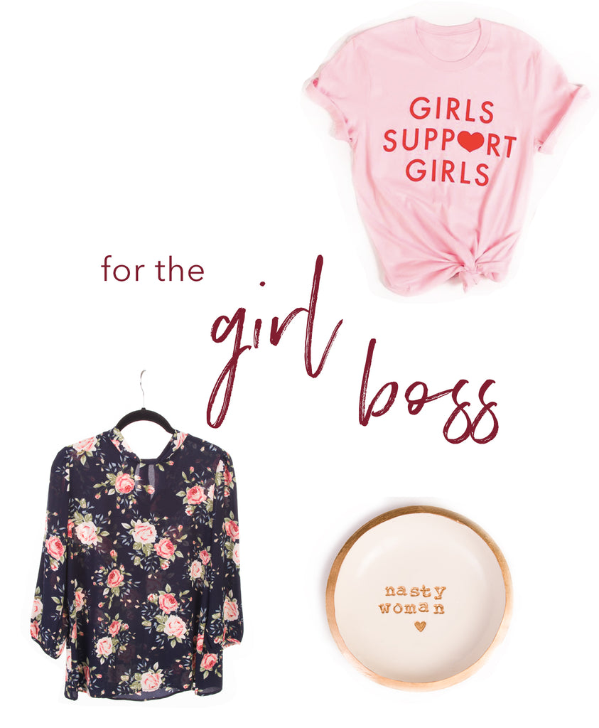gifts for the girl boos