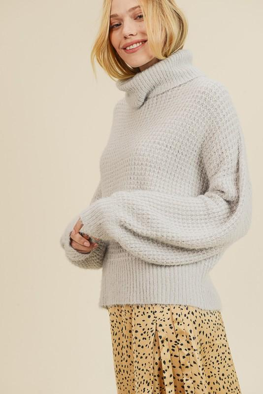 Snug Life Turtleneck Sweater