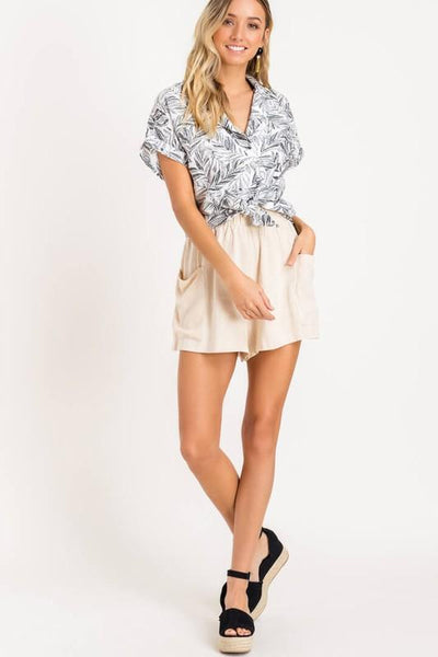Tropic Like It's Hot Button-Up Shirt