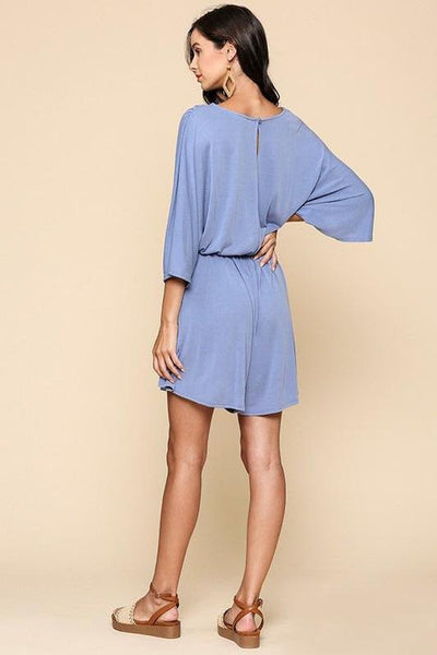 Romp Around Knit Romper