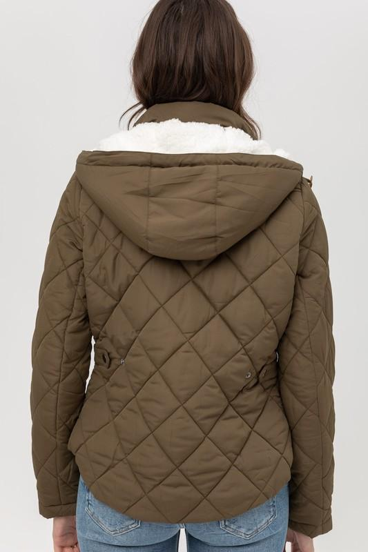 Quilty As Charged Puffer Jacket